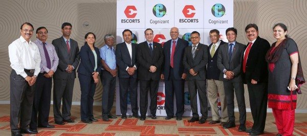 Escorts Group joins hands with Cognizant (1)