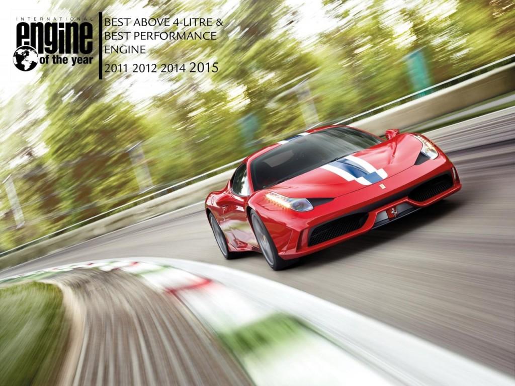 Ferrari claims International Engine of the Year Awards