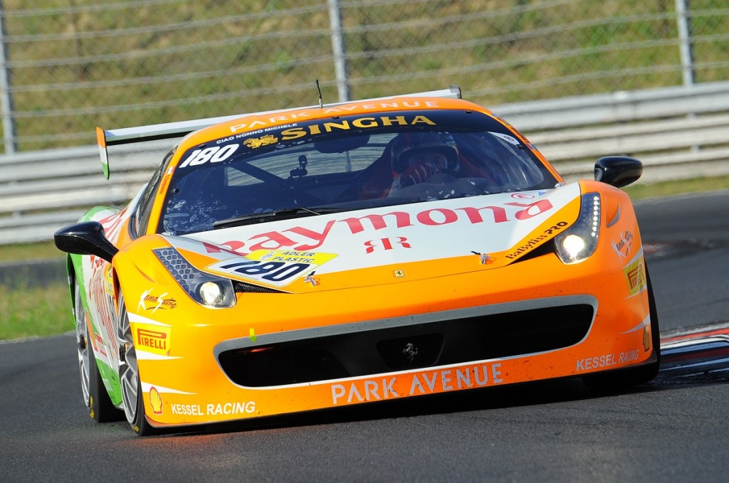 Gautam Hari Singhania finishes 2nd in his category with Kessel Racing Team in Budapest leg of Ferrari Challenge (1)