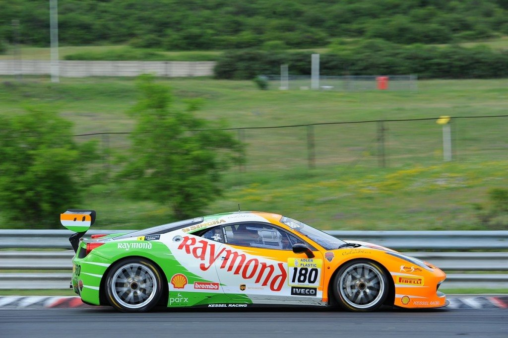 Gautam Hari Singhania finishes 2nd in his category with Kessel Racing Team in Budapest leg of Ferrari Challenge (3)
