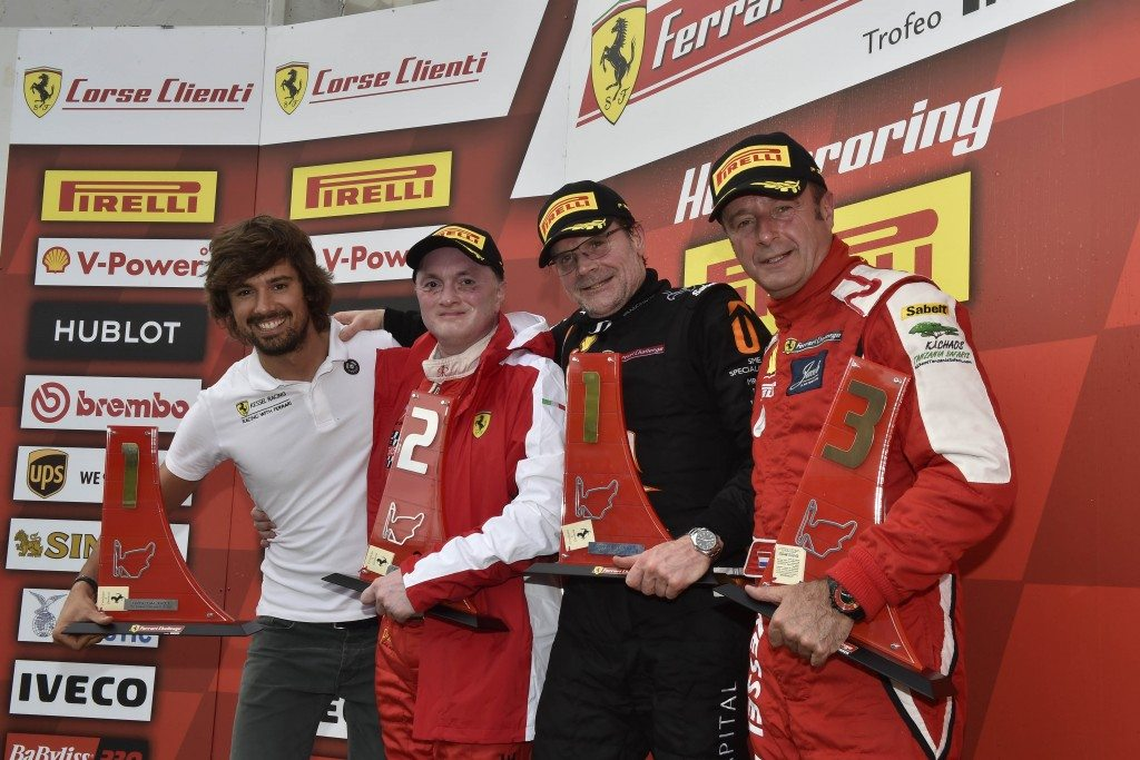 Gautam Hari Singhania finishes 2nd in his category with Kessel Racing Team in Budapest leg of Ferrari Challenge (4)