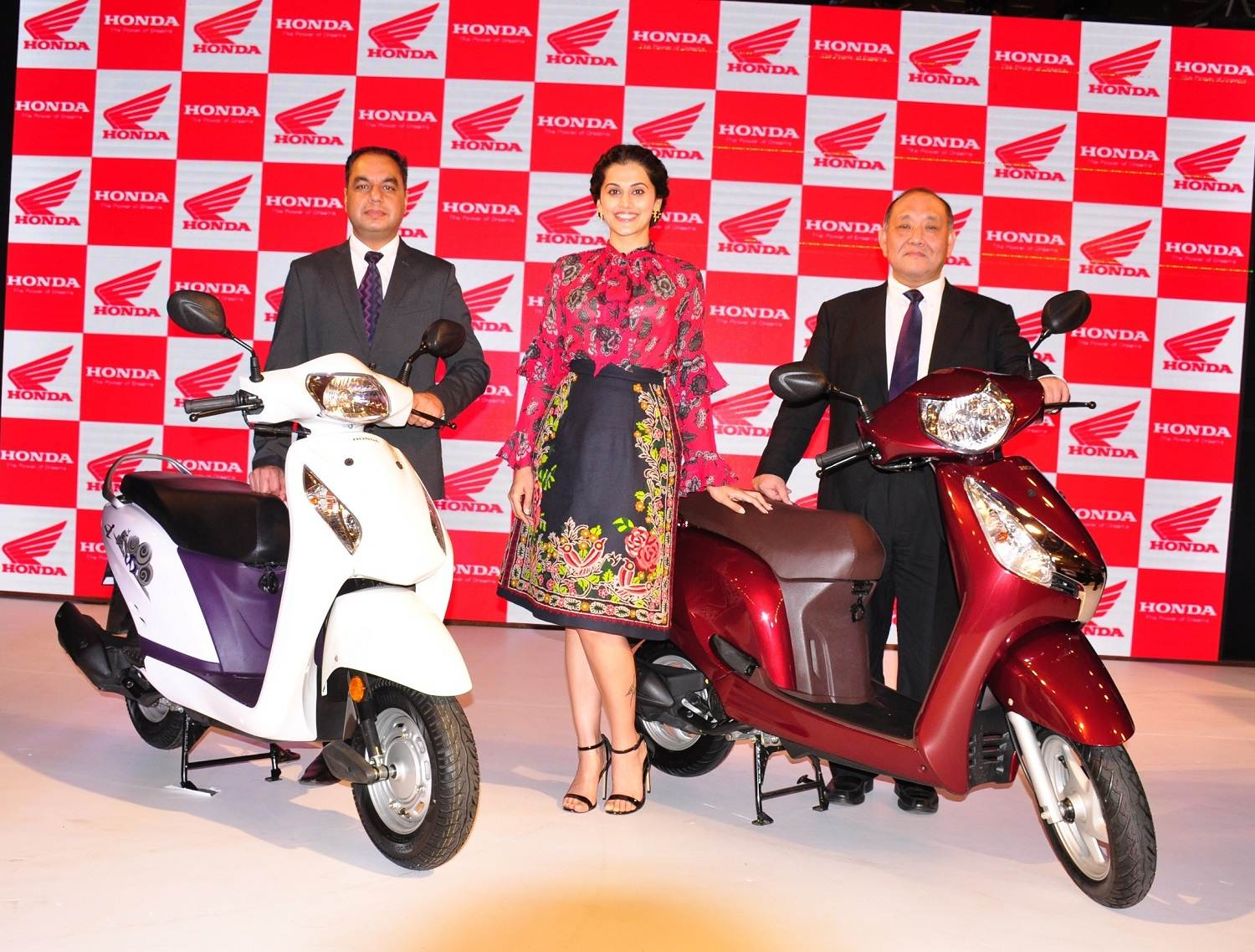 Honda Taapsee Pannu scooter launch