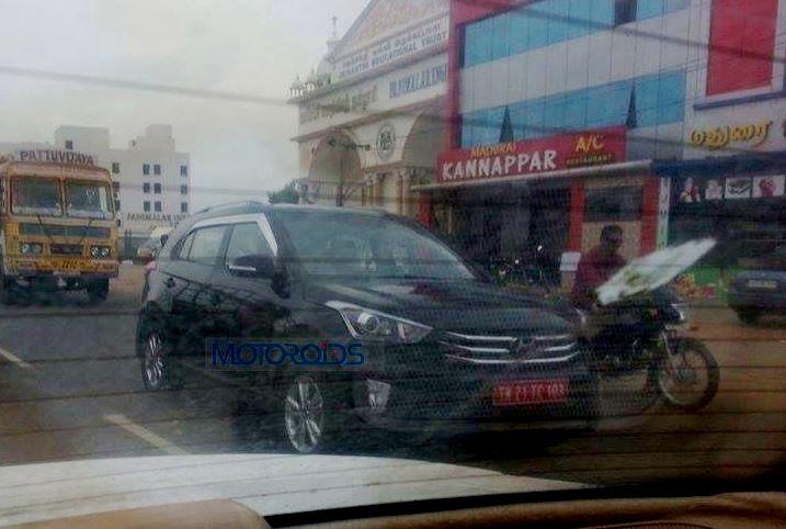 Hyundai Creta Spy Images (1)