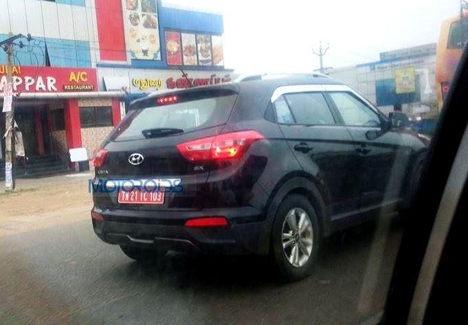 Hyundai Creta Spy Images (2)
