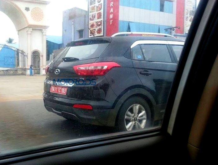 Hyundai Creta Spy Images (3)