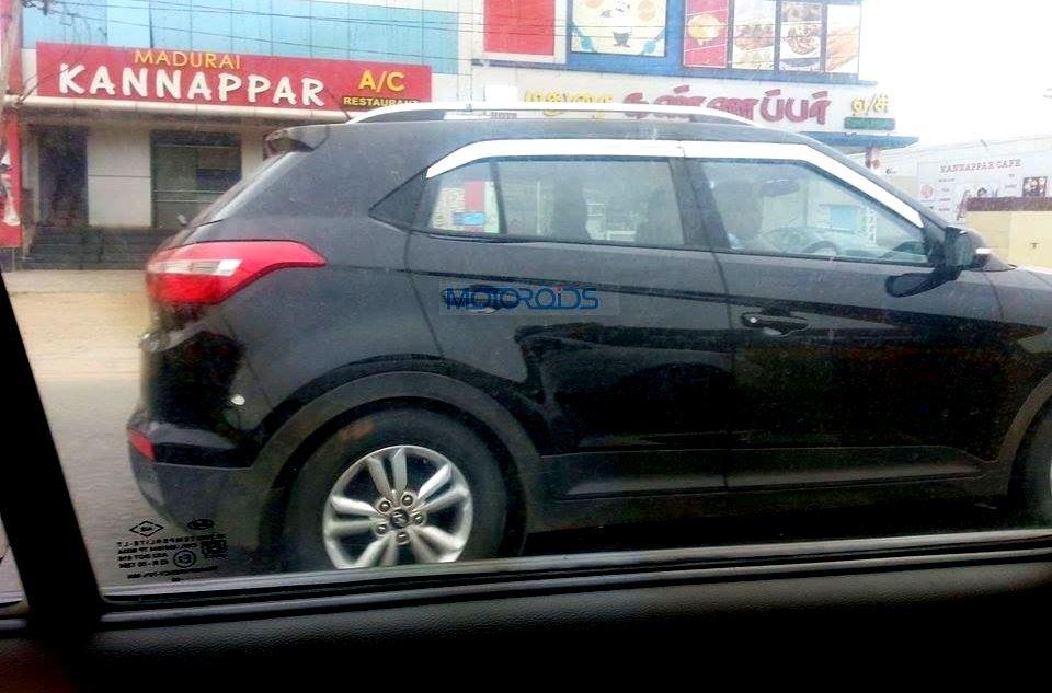 Hyundai Creta Spy Images (5)