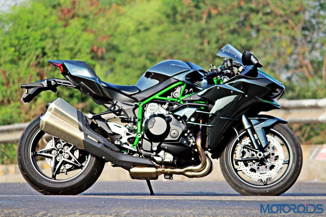 Kawasaki Ninja H2 - Ownership Review - Static Shots - Side (10)