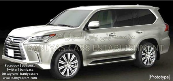 Lexus LX facelift (2)