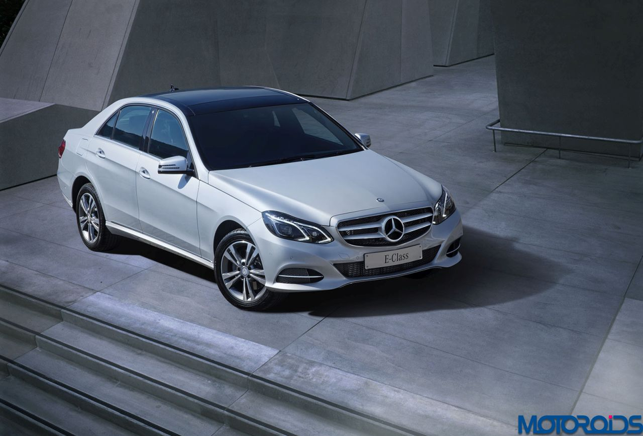 Mercedes benz adds more features for the e class in india for Mercedes benz starting price