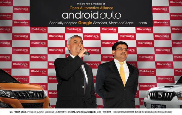 Mahindra Becomes Member of Open Automotive Alliance