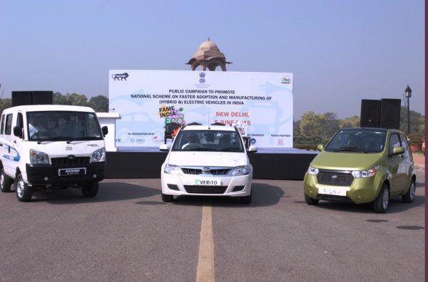 Mahindra Participates in FAME India Ecodrive