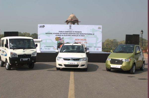 Mahindra participates in FAME India Eco Drive 2015