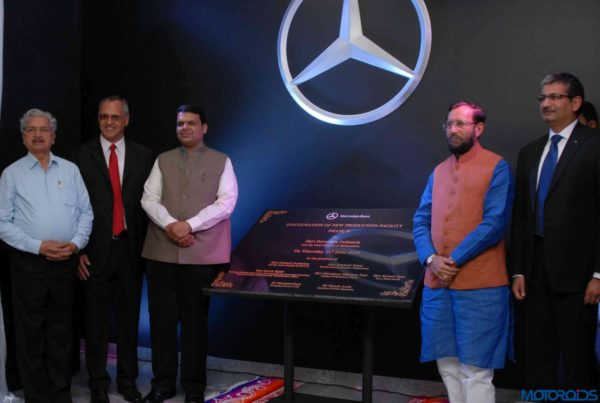 Mercedes-Benz Chakan plant inauguration (1)