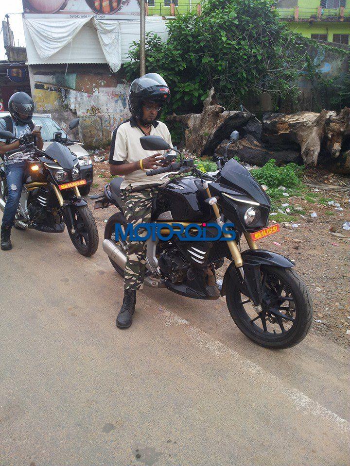 NEW Mahindra Mojo Spy Images - Prasannajit Patra - 1