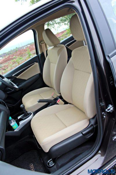 New 2015 Honda Jazz front seats