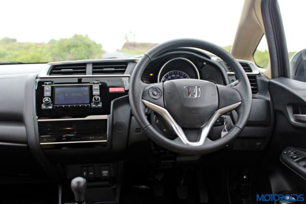 New 2015 Honda Jazz steering