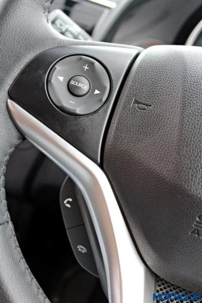 New 2015 Honda Jazz steering controls