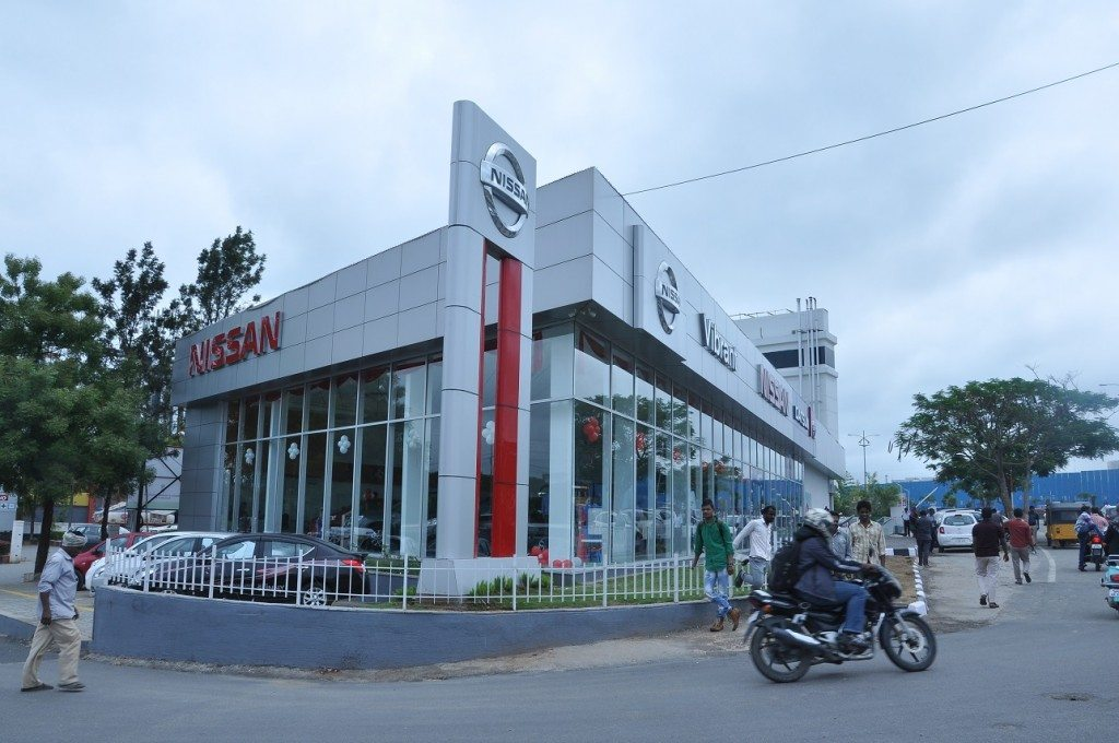 Nissan India opens new dealership – Vibrant Nissan – at Hyderabad (1)