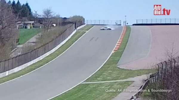Porsche 918 crash Walter Roehrl (5)