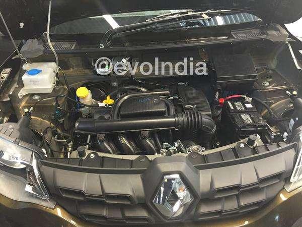 Renault Kwid 800cc engine spied