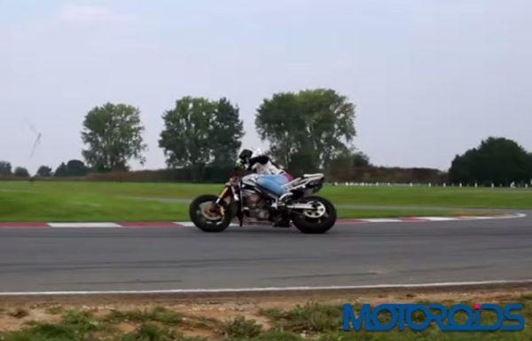 Sarah Lezito bike drift (1)
