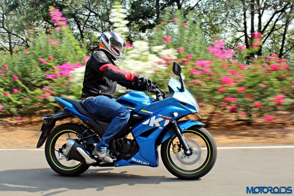 Suzuki Gixxer SF India review