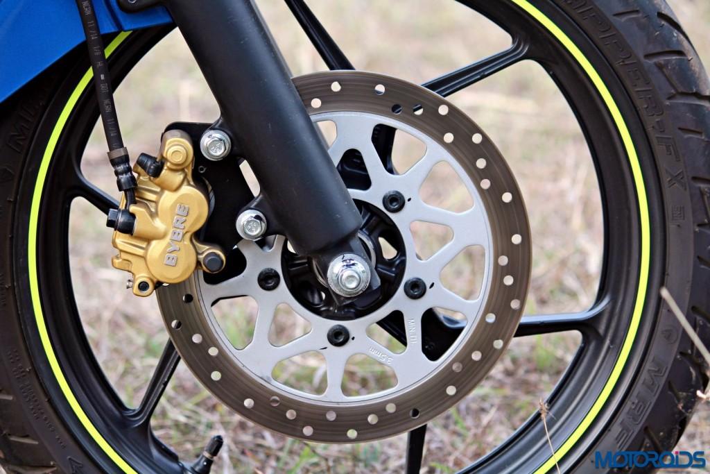 Suzuki Gixxer SF front brakes