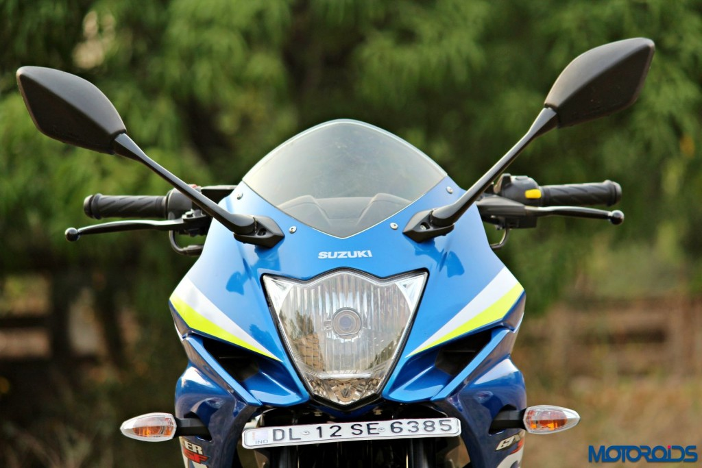Suzuki Gixxer SF headlight fairing (1)