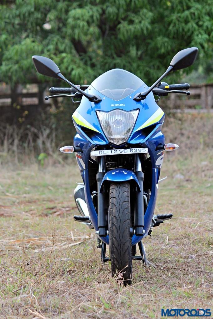 Suzuki Gixxer SF static front (1)
