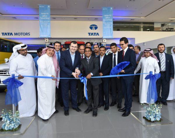 Tata Motors - New Showroom in Saudi Arabia