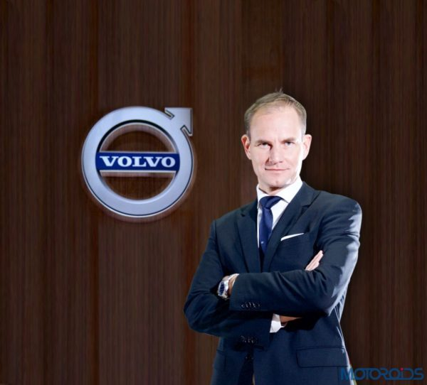 Tom von Bonsdorff - MD - Volvo India (2)