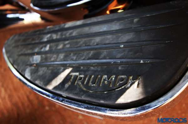 Triumph Thunderbird LT foot board