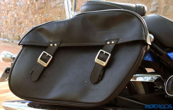 Triumph Thunderbird LT saddlebags