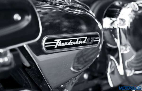 Triumph Thunderbird LT side panel