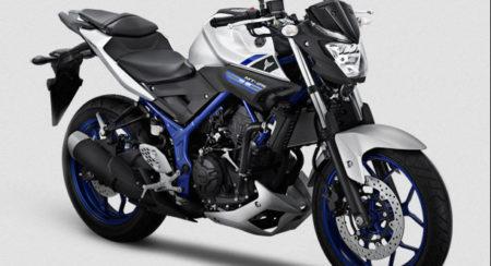 Yamaha MT-25 Silver Blue