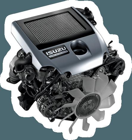 Isuzu D-MAX engine