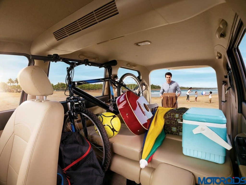 2015 Chevrolet Enjoy luggage space