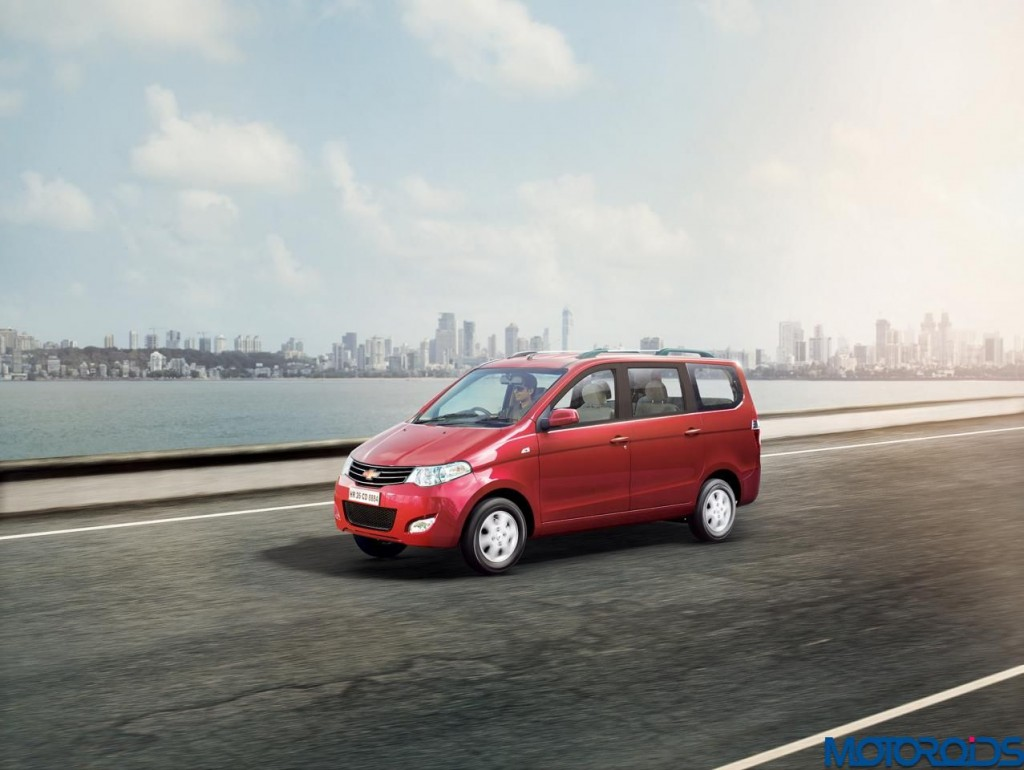 2015 Chevrolet Enjoy press image