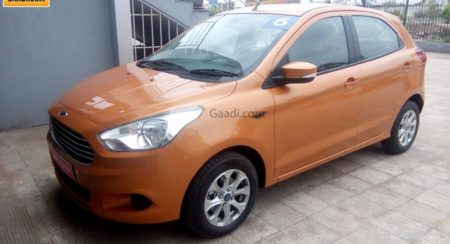 2015 Ford Figo hatchback (1)