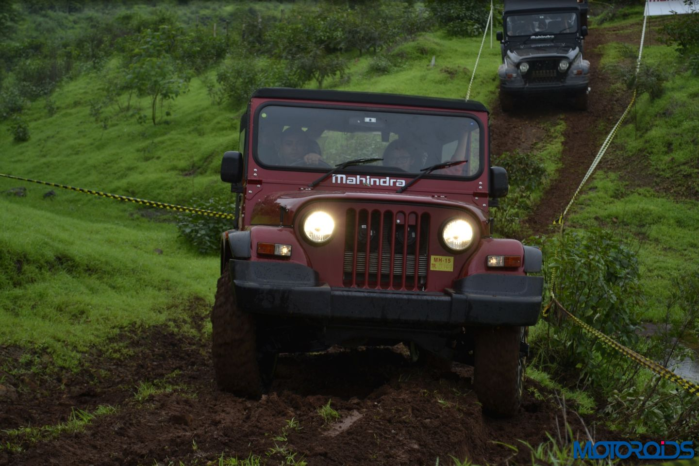 2015 Mahindra Thar Crde First Drive Review Iron Boar
