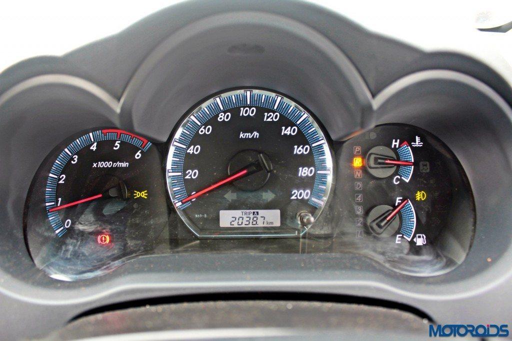 2015 Toyota Fortuner 3.0 4x4 AT instrument