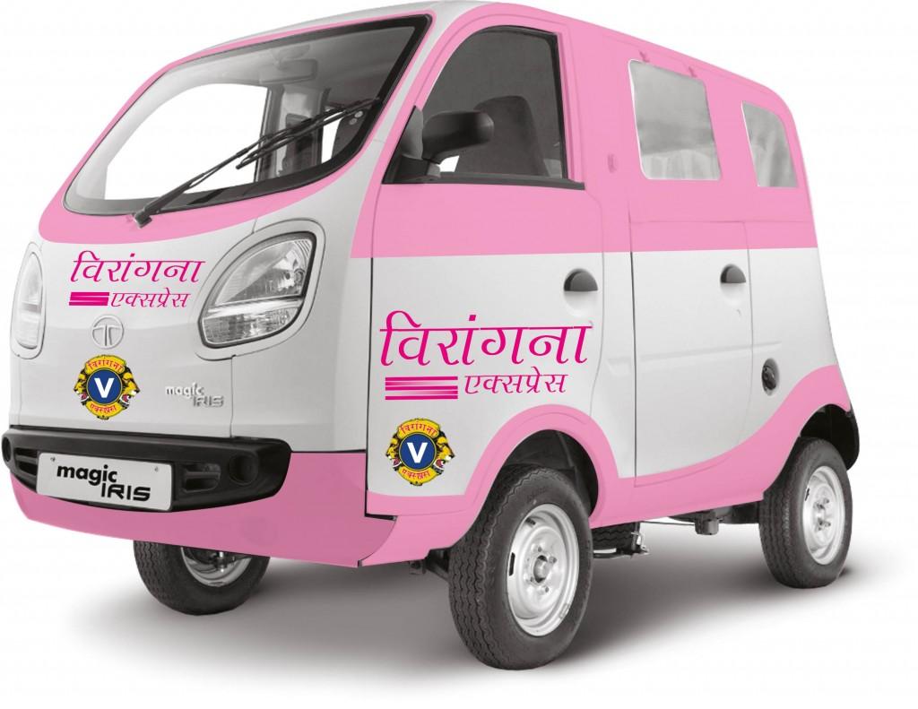 4-wheel Auto-rickshaw service for women by women – Veerangana Express