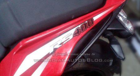 Bajaj Pulsar RS400 gets spied (3)