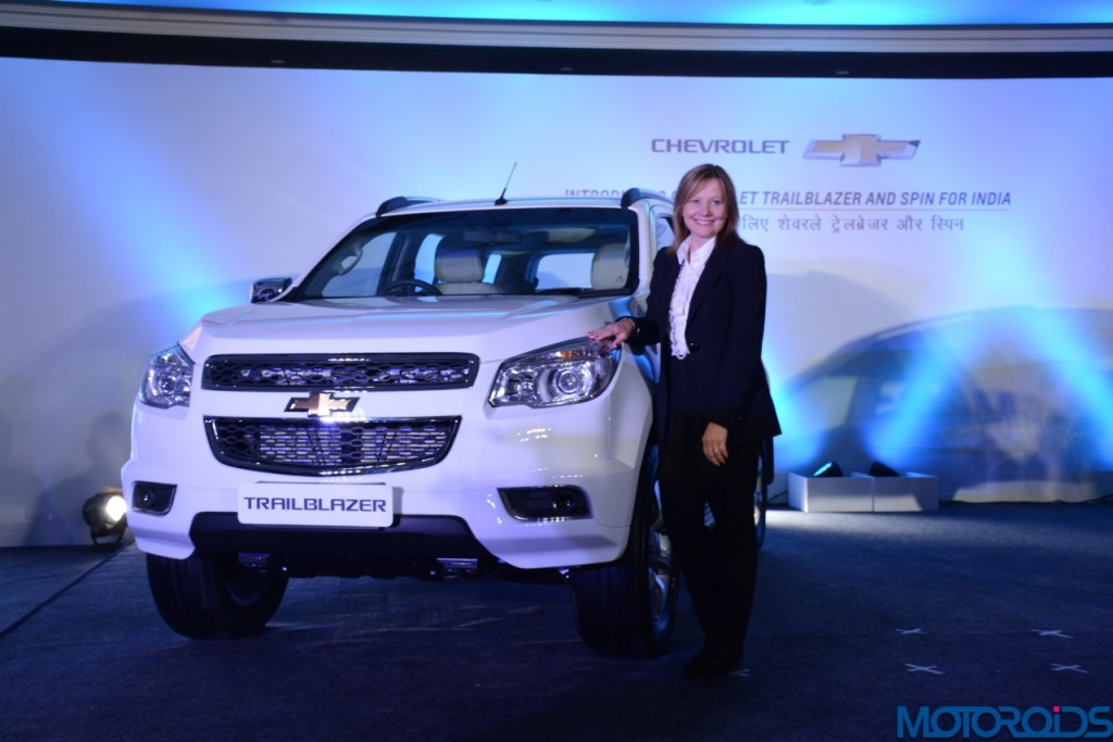 Chevrolet Trailblazer unveilied in India (1)
