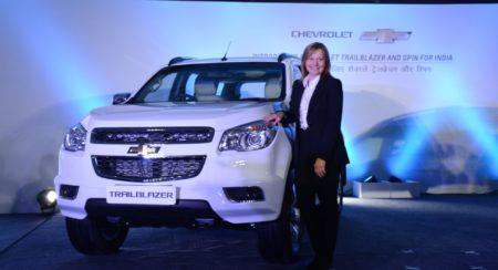 Chevrolet Trailblazer unveilied in India (1)