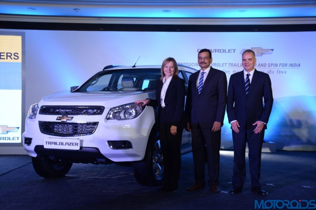 Chevrolet Trailblazer unveilied in India (2)