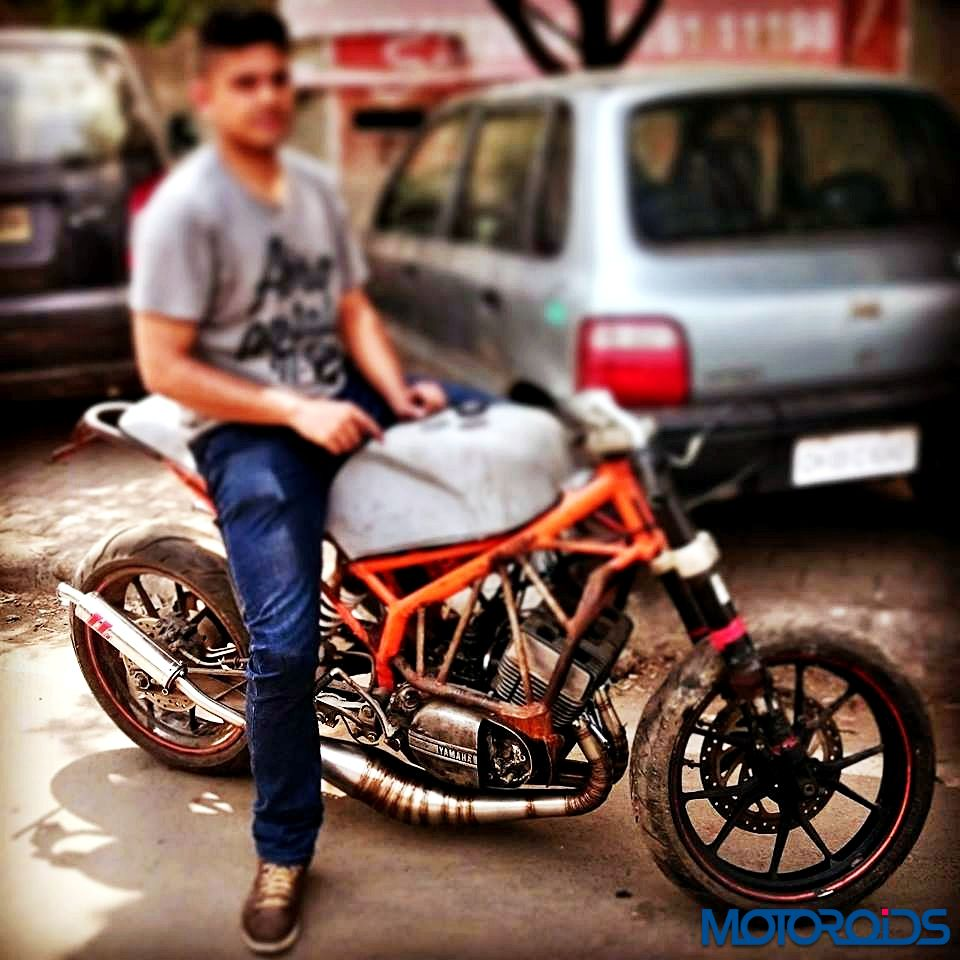This Crazy Looking Custom Built Rd350 Namely Flying Sikh