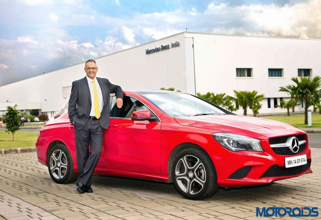 Eberhard Kern - Managing Director and CEO - Mercedes-Benz India