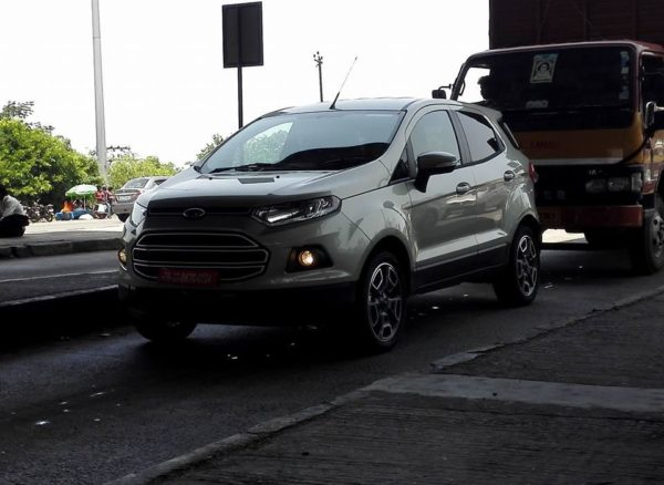 Facelifted Ford EcoSport (1)