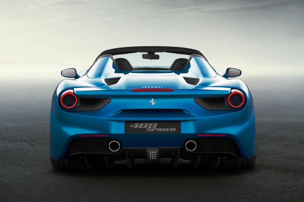 Ferrari 488 Spider rear